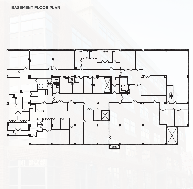 801 West Baltimore Street UMBioPark Basement Floor Plan