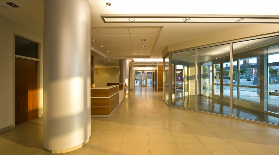 Maryland Proton Treatment Center Lobby