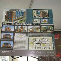 Forensic Medical Center Groundbreaking at UMBioPark