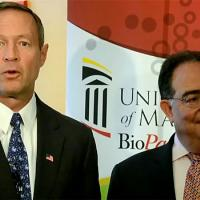 Governor O'Malley visits the UM BioPark