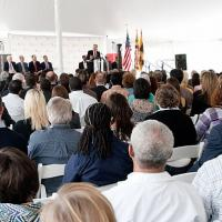 Maryland Proton Treatment Center Groundbreaking Ceremony