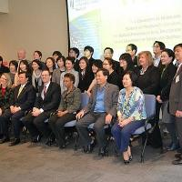 Small group shot from Korean Delegation Visit at UMBioPark